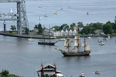 Photograph - Tall Ships -hms Bounty by Ron Read
