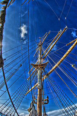 Photograph - Tall Ships by Perry Frantzman