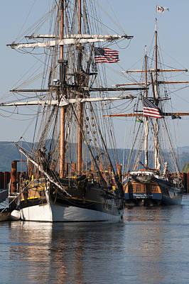 Photograph - Tall Ships by Robert Potts