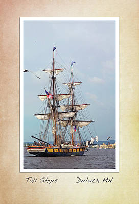 Photograph - Tall Ships V1 by Heidi Hermes
