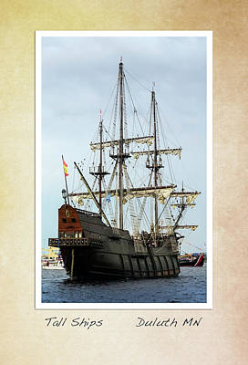 Photograph - Tall Ships V2 by Heidi Hermes