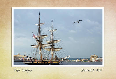 Photograph - Tall Ships V3 by Heidi Hermes