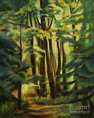 Painting - Tall Trees by Synnove Pettersen