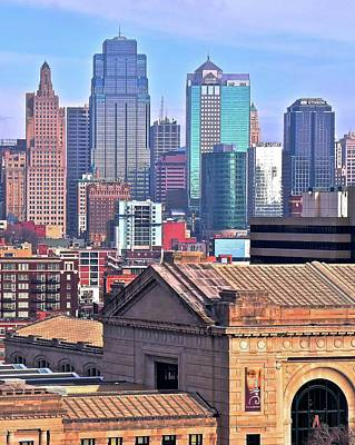Photograph - Tall View Of Kc by Frozen in Time Fine Art Photography