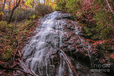 Photograph - Tall Waterfall by Tom Claud