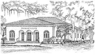 Tallahassee Womens Club Art Print