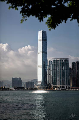 Photograph - Tallest Building In Hong Kong by Endre Balogh