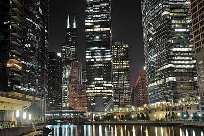 Tallest Towers Brightest Lights Art Print