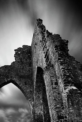 Photograph - Talley Abbey by John Chivers