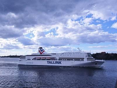 Tallink Ferrie Art Print