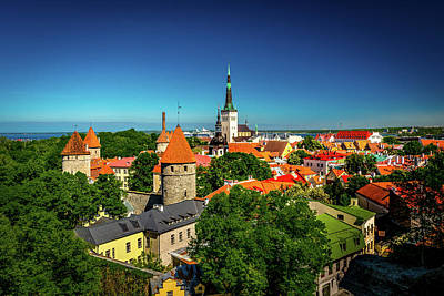 Photograph - Tallinn by Andrew Matwijec