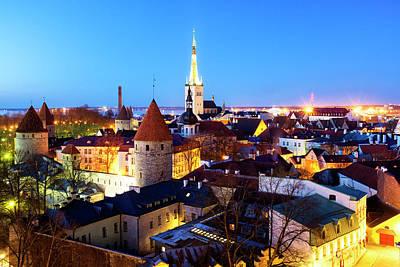 Photograph - Tallinn by Fabrizio Troiani