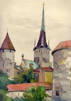 Painting - Tallinn by Natalia Eremeyeva Duarte