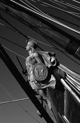Photograph - Tallship Figure Head by David Shuler