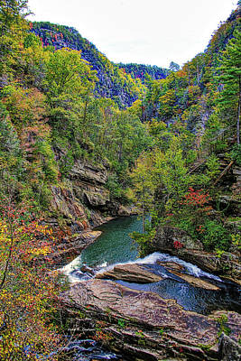 Photograph - Tallulah Gorge by Bluemoonistic Images