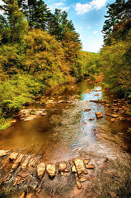 Photograph - Tallulah River by Mick Burkey