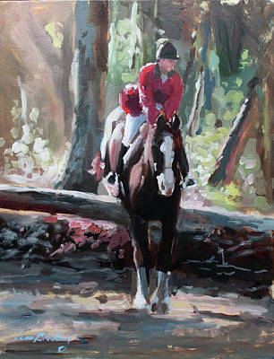 Painting - Tally Ho by Susan Bradbury