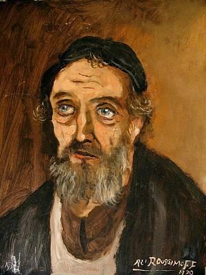 Painting - Talmudic Scholar by Ari Roussimoff