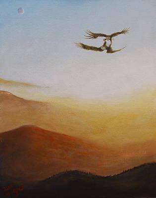 Painting - Talon Lock by Dan Wagner