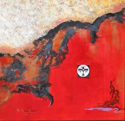 Talons Of Prey Art Print by M Diane Bonaparte