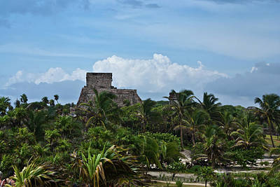 Homesickness Photograph - Talum Ruins 2 by Douglas Barnett