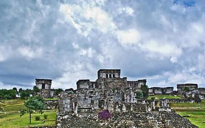 Homesickness Photograph - Talum Ruins 8 by Douglas Barnett