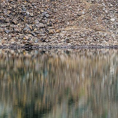 Photograph - Talus Reflection by Alexander Kunz