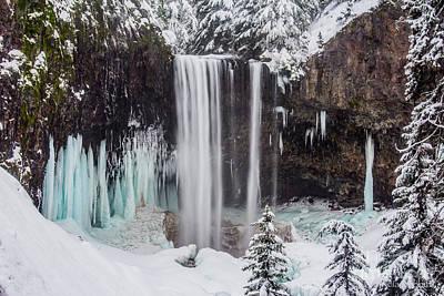 Photograph - Tamanawas Falls 1 by Patricia Babbitt