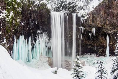 Photograph - Tamanawas Falls 2 by Patricia Babbitt