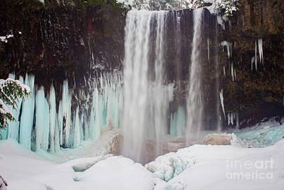 Photograph - Tamanawas Falls 3 by Patricia Babbitt