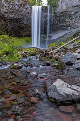 Wall Art - Photograph - Tamanawas Falls Along Cold Spring Creek In Oregon by David Gn