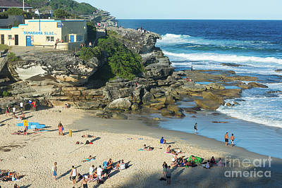 Photograph - Tamarama Beach by Andrew Michael