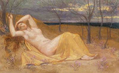 Painting - Tamaris                                      by Pierre De Chavannes