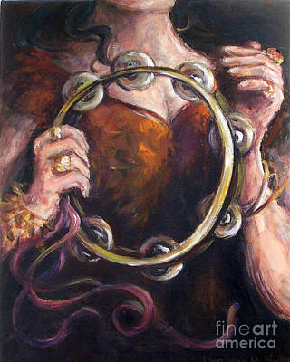 Painting - Tambourine by Deborah Smith