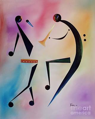 Perform Painting - Tambourine Jam by Ikahl Beckford
