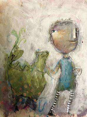 Mixed Media - Tame The Gremlins by Eleatta Diver