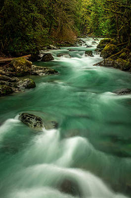 Photograph - Tamihi Creek 2 by Brad Koop