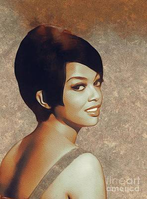 Music Paintings - Tammi Terrell, Music Legend by Esoterica Art Agency