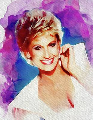 Music Royalty-Free and Rights-Managed Images - Tammy Wynette, Country Music Legend by Esoterica Art Agency