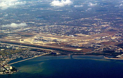 Photograph - Tampa Airport by T Guy Spencer