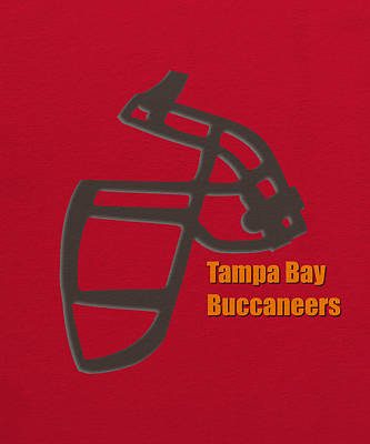Tampa Bay Buccaneers Retro Art Print by Joe Hamilton