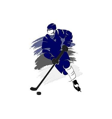 Hockey Photograph - Tampa Bay Lightning Player Shirt by Joe Hamilton