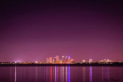 Tampa Bay Skyline Art Print