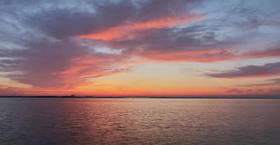 Photograph - Tampa Bay Sunrise by Jack Nevitt