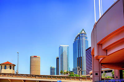 Photograph - Tampa City Skyline Fl by Chris Smith