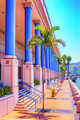 Photograph - Tampa Convention Center  by Chris Smith