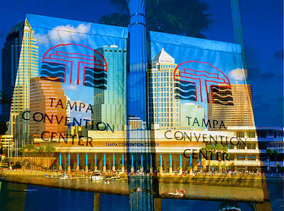 Photograph - Tampa Convention Center Mu 1 by David Lee Thompson