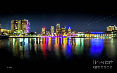 Photograph - Tampa Downtown Skyline by Rene Triay Photography