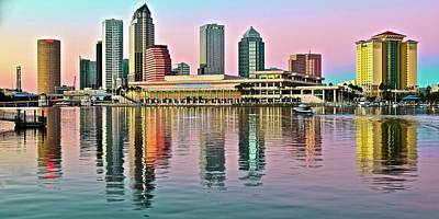 Photograph - Tampa Elongated by Frozen in Time Fine Art Photography