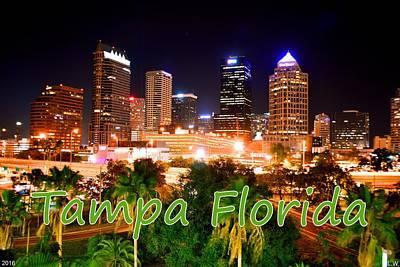 Photograph - Tampa Florida by Lisa Wooten